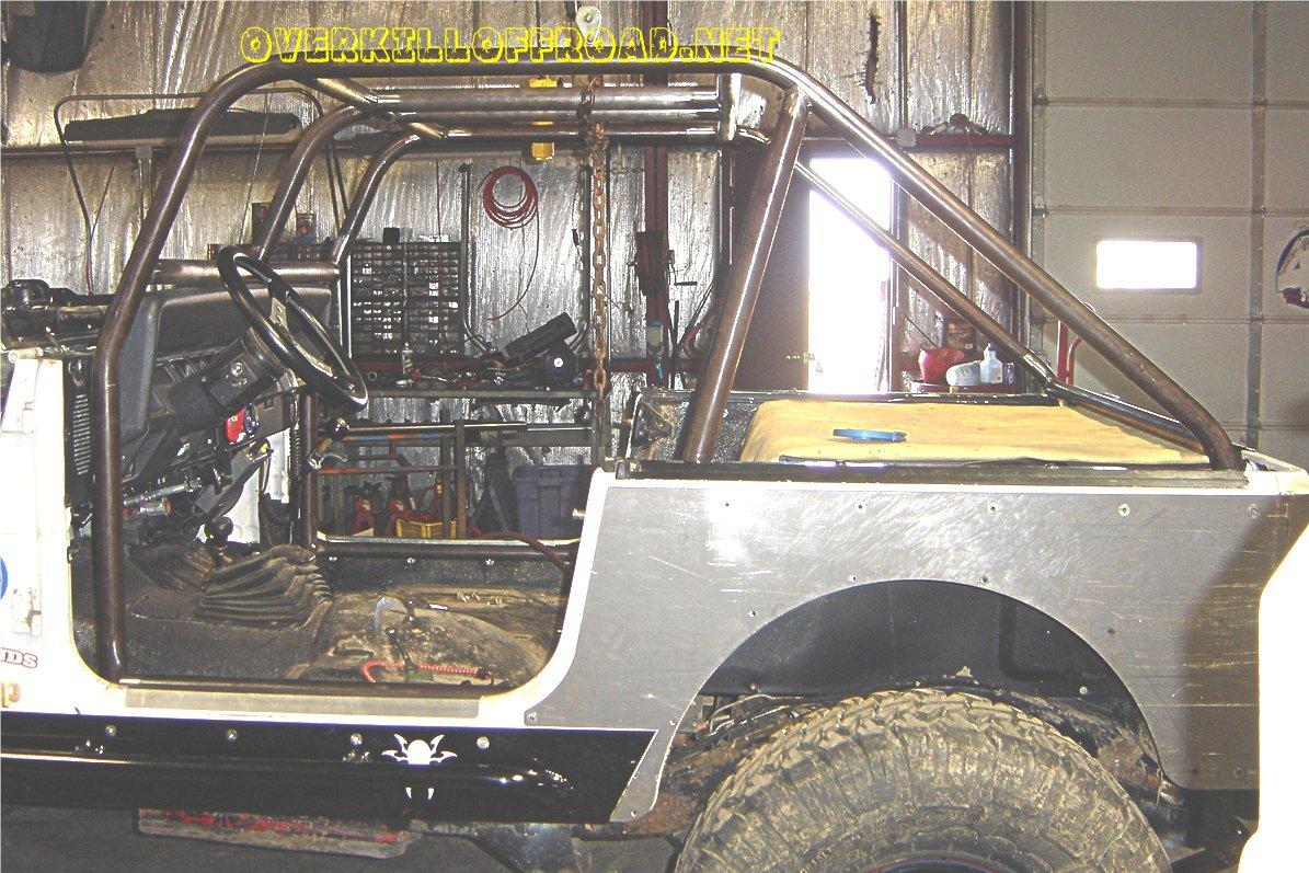 Jeep YJ Custom Fabrication Work
