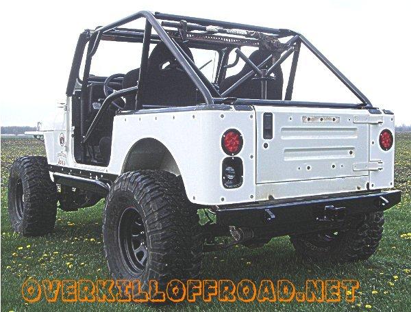 Used Jeep Cj7 Rear lights, bumper, crusher corners, sport cage