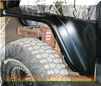 Jeep TJ OverKill Off Road Tube Fenders