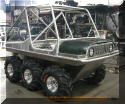 Aluminum 6x6 completely built by OverKill Off Road
