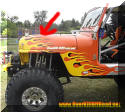 Jeep CJ basic custom tube fenders OverKill