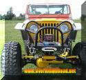 OverKill Off Road Custom Jeep CJ Grill Guard