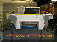 CJ7 fiberglass body work
